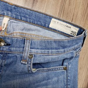 Rag & bone The Dre distressed jeans
